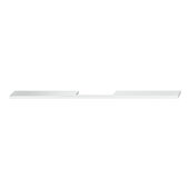 Design Deco Series Neoteric Collection Aluminum Center Pull Handle in Polished Chrome, 800mm W x 30mm D x 7mm H (31-1/2'' W x 1-3/16'' D x 1/4'' H), Center to Center: 640mm (25-3/16'')
