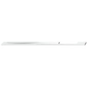 Design Deco Series Neoteric Collection Aluminum Off Center Pull Handle in Polished Chrome, 300mm W x 30mm D x 7mm H (11-13/16'' W x 1-3/16'' D x 1/4'' H), Center to Center: 256mm (10-1/16'')