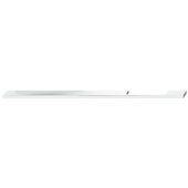 Design Deco Series Neoteric Collection Aluminum Off Center Pull Handle in Polished Chrome, 400mm W x 30mm D x 7mm H (15-3/4'' W x 1-3/16'' D x 1/4'' H), Center to Center: 352mm (13-7/8'')