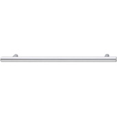 Cornerstone Series Cosmopolitan Collection (9-1/2'' W) Contemporary Bar Pull in Polished Chrome, 242mm W x 32mm D x 12mm H, Center to Center: 192mm  (7-9/16'')
