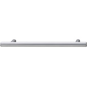 Cornerstone Series Cosmopolitan Collection (7'' W) Contemporary Bar Pull in Matt Chrome, 178mm W x 32mm D x 12mm H, Center to Center: 128mm  (5-3/64'')