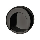 Hewi Collection Recessed Polyamide Pull in Jet Black, 75mm W x 13mm D x 70mm H