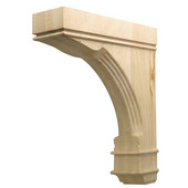 H�fele Regency Collection Hand Carved Corbel Traditional 2-7/8'' W x 9'' D x 12'' H, Cherry