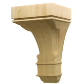 Häfele Regency Collection Hand Carved Corbel Traditional 5-7/8'' W x 4'' D x 9'' H, Cherry