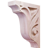 Lafayette Collection Corbel, Maple, 2-7/8''W x 9''D x 12''H