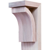 Prairie Collection Corbel, Maple, 2-7/8''W x 3''D x 6''H