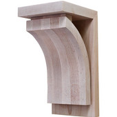 Prairie Collection Corbel, Maple, 4-1/4''W x 5''D x 9''H