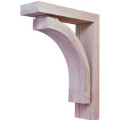 Prairie Collection Corbel, Maple, 2-7/8''W x 9''D x 12''H