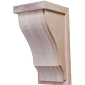 Hannover Collection Corbel, Maple, 4-1/4''W x 5''D x 9''H
