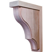 Hannover Collection Corbel, Maple, 2-7/8''W x 9''D x 12''H