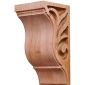 Lafayette Collection Corbel, Cherry, 2-7/8''W x 3''D x 6''H