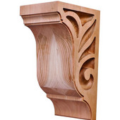 Lafayette Collection Corbel, Cherry, 4-1/4''W x 5''D x 9''H
