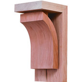 Prairie Collection Corbel, Cherry, 2-7/8''W x 3''D x 6''H