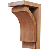 Prairie Collection Corbel, Cherry, 4-1/4''W x 5''D x 9''H