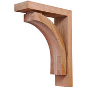 Prairie Collection Corbel, Cherry, 2-7/8''W x 9''D x 12''H