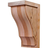 Hannover Collection Corbel, Cherry, 4-1/4''W x 5''D x 9''H