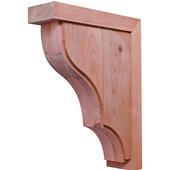 Hannover Collection Corbel, Cherry, 2-7/8''W x 9''D x 12''H