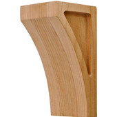 Transitions Collection Corbel, Cherry, 2-7/8''W x 3''D x 6''H