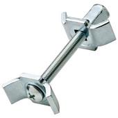 Recessed Worktop Connector, 65mm (2-9/16') L, Zinc-Steel Plated