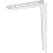 Shelf Support Bracket with 265 lbs. Load Capacity, White, 7-7/8''H