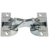 135° GS 45/90 Miter Cabinet Hinge in Nickel Plated, 1.5mm (1/20'') W
