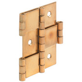 Paravent Screen Cabinet Hinge in Polished, 60mm (2-3/8'') H