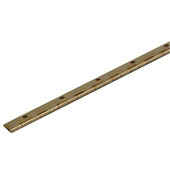 Piano Cabinet Hinge in Brass, 27mm (1-1/16'') W x 1828.8mm (72'') H