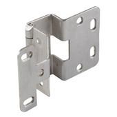 5-K 270° Five Knuckle 13/16'' Overlay Door Cabinet Hinge Grade 1 in Stainless Steel