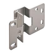 5-K 270° Five Knuckle 13/16'' Overlay Door Cabinet Hinge Grade 1 in Powder Coated Chrome