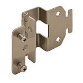 5-K Advantage 270° Five Knuckle Cabinet Hinge Grade 1 in Plated Brushed Nickel, 70mm (2-3/4'') H