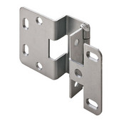 5-K 270° Five Knuckle 3/4'' Overlay Door Cabinet Hinge Grade 1 in Dull Chrome Plated