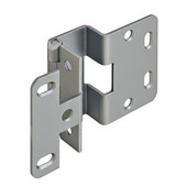 5-K 270° Five Knuckle 13/16'' Overlay Door Cabinet Hinge Grade 1 in Dull Chrome Plated