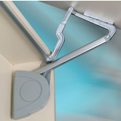 Lift-Up Fitting - Verso, Soft & Silent Closing, Silver, 420 � 800mm (16-9/16 � 31-1/2'') door height, 4.4 � 8.8 lbs. door weight