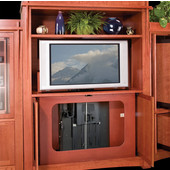 Motorized Flat Panel TV Lift, Accuride CB Lift 50, Quick Lift, For TVs up to 50'', 120 lbs., Steel, Black