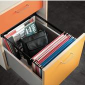 File Frame Kit - Steel, Letter Width, Black