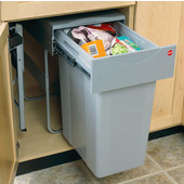 ''Easy Cargo 40'' Pull-Out Waste Bin, Min. Cabinet Opening: 15'' and 18'' Wide