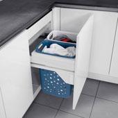 Halio 60 Full Extension Laundry Hamper w/Two (2) 35 Qt. Bins & Lid