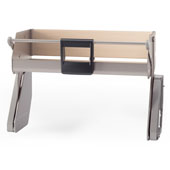 iMove Pull Down Unit, Single Shelf, Champagne/Maple, Faceframe or Frameless, For 21'' - 30'' Cabinet Width