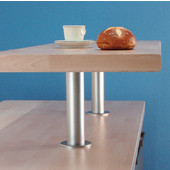 Raised Breakfast Bar Support for Solid Tops, 9-1/16'' H