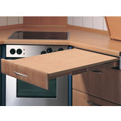 ''Rapid'' Pull-Out Kitchen Table, Maple, Min Cab Opening: 22-1/8'' x 19-1/4'' D x 4-3/4'' H