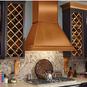 Maple Wine Rack Lattice, Includes Front and Back Racks, Available in Different Sizes