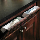 Sink Front Tip-Out Tray Set for Kitchen or Vanity Sink Cabinet, 11'' or 14'' W, White