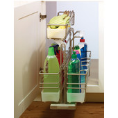 Kitchen or Bath Sink Caddy with 3 Baskets (1 Removable), Champagne, Min Cab Opening: 11'' W x 19-1/2'' D x 20'' H