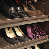''Synergy Elite'' Collection Elite Shoe Fence, Matt Gold, Available in Other Finishes & Sizes