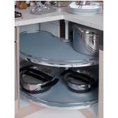 hafele lazy susans full half round kidney pie cut d shaped corner full access lazy. Black Bedroom Furniture Sets. Home Design Ideas