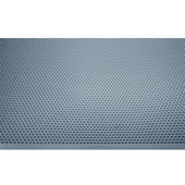 Cabinet Protector Rubber Mat, Stainless Steel/Gray, 1150 mm W x 625 mm D x 13 mm H (45-1/2'' W x 24-5/8'' D x 1/2'' H)