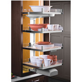 Lavido Pantry Pull-out Frame, Top Shelf Height 40''