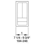 Cutlery Tray Drawer Insert, 7-1/4''W - 9-3/4''W