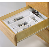 Cutlery Tray Drawer Insert, 11-1/4''W - 13-3/4''W
