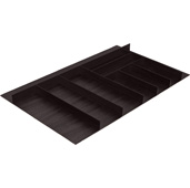 ''Fineline'' Large Cutlery Tray, Black Ash, 33-9/16'' W x 16-11/16'' D x 1-15/16'' H, For Cabinet Width 36'' W